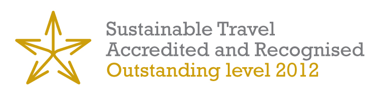 Sustainable Travel Outstanding Level 2012 Logo